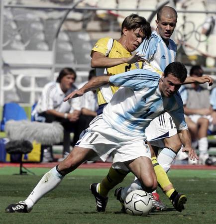 图文:阿根廷男足夺冠