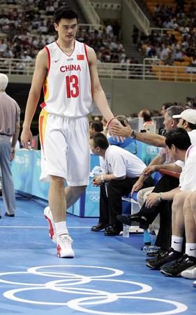 图文:中国男篮负西班牙