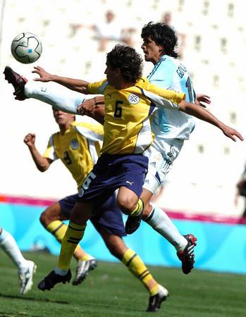 图文:男足阿根廷夺冠
