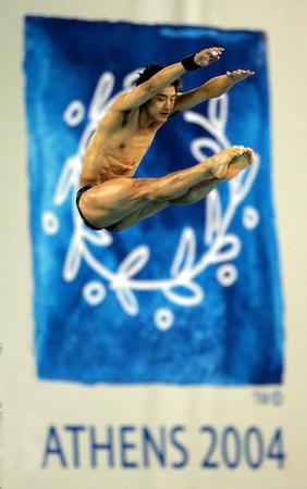 图文:男子10米跳台半决赛