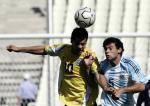 图文:阿根廷男足夺冠 比赛中5