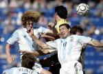 图文:阿根廷男足夺冠 比赛中6