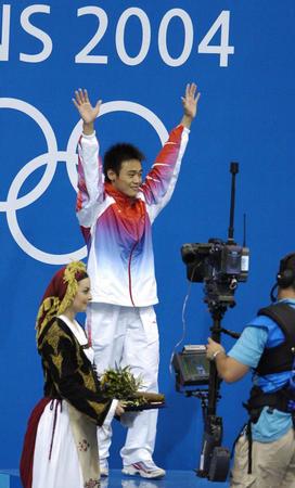 图文:男子10米跳台决赛