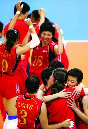 中国女排惊天大逆转 20年后重回世界巅峰