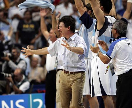 图文:奥运男子篮球决赛
