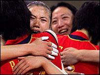 图文:中国女排夺冠军