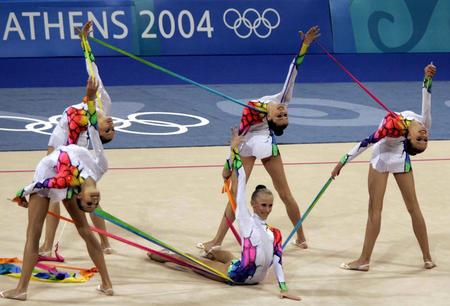 图文:艺术体操