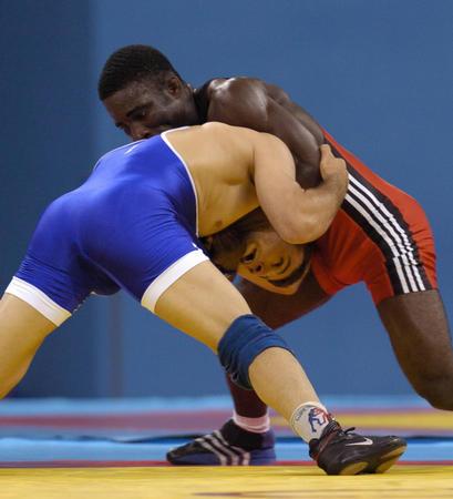 图文:摔跤男子自由式60公斤级