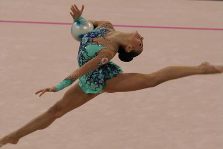 图文:俄罗斯选手卡芭耶娃