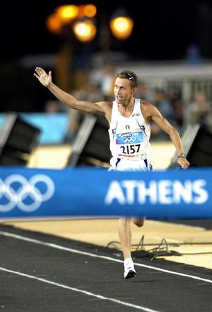 图文:男子马拉松比赛