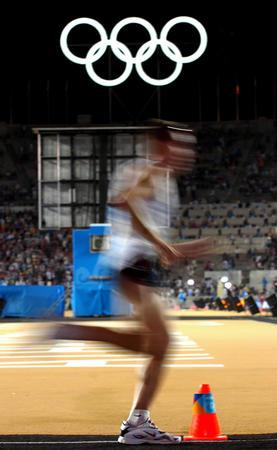 图文:男子马拉松