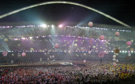 图文:奥运会闭幕式