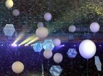 图文:奥运会闭幕式 上升的气球