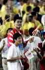 图文:奥运会闭幕式 幸福时刻