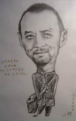 张红东铅笔画