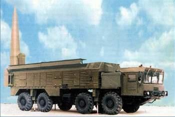 """组图:俄制""""伊斯坎德尔""""战役战术导弹"""