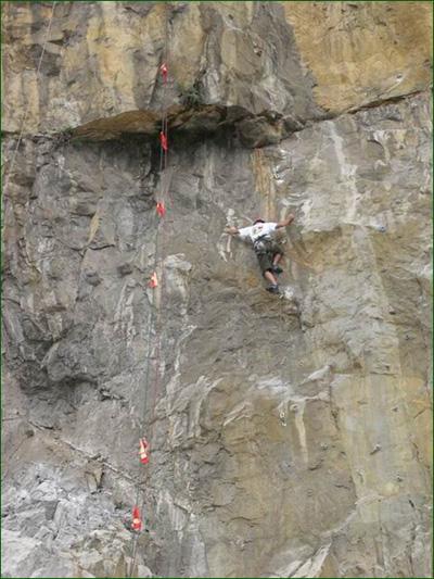 高望杯自由攀岩赛在柳州闭幕