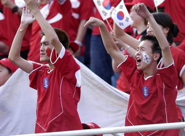 """中国少年""""逢韩必胜"""" 韩国球队避之而不及"""