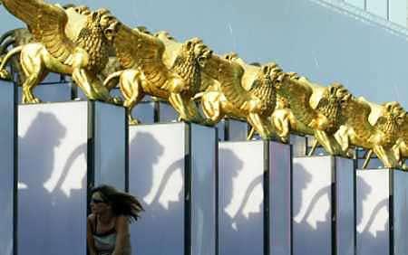 组图:水城威尼斯准备就绪 即将迎来盛大电影节