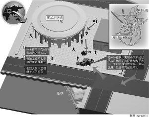 莫斯科地铁站爆炸(组图)