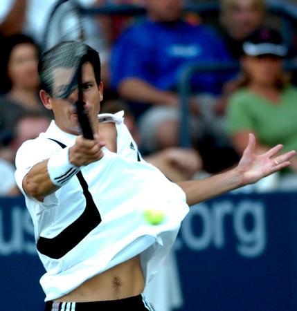 7 网球――美国网球公开赛战况