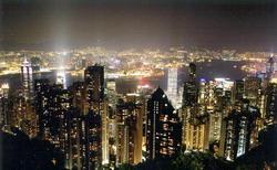 游玩:世界四大夜景之一 香港太平山顶夜景(图)