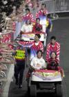 图文:奥运金牌精英大汇演 跳水王子