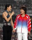 图文:奥运金牌精英大汇演 罗雪娟容祖儿同台演唱
