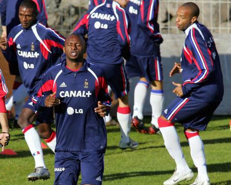 法国国家队在法罗群岛训练