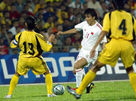 图文:中国队对马来西亚