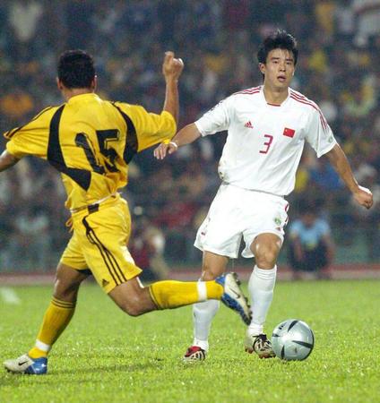 图文:中国队对阵马来西亚