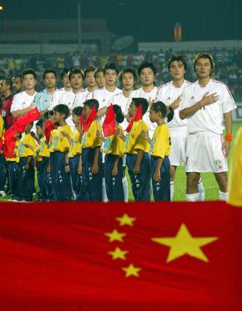 图文:中国队胜马来西亚