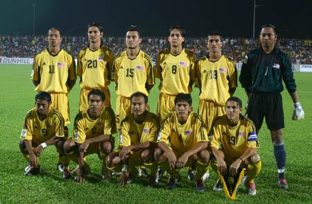 图文:中马之战中国1-0小胜 马来西亚首发阵容