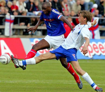 在法罗群岛进行的世界杯足球赛欧洲区预选赛第