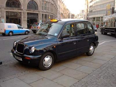 伦敦出租车