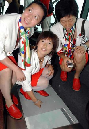 图问:奥运冠军空中看澳门