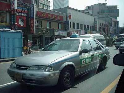 汉城出租车