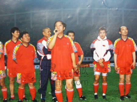 图文:中国明星足球队精彩图片-74