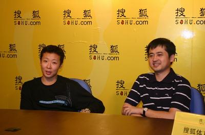 图文:冯坤做客搜狐聊天