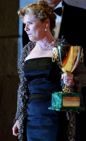 最佳女演员伊梅尔达-斯托顿发表获奖感言