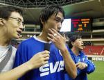 图文:2004中超联赛第九轮 杜威复出