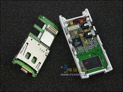 两层电路板设计-绝对首报 神秘3520芯片MP3 P636曝光图片