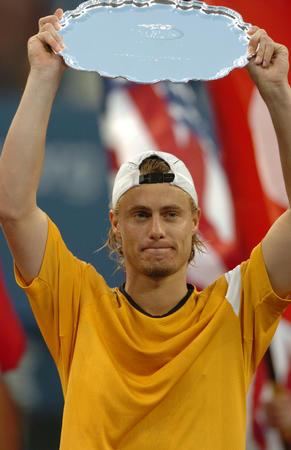 图文:费德勒夺得美网男单冠军