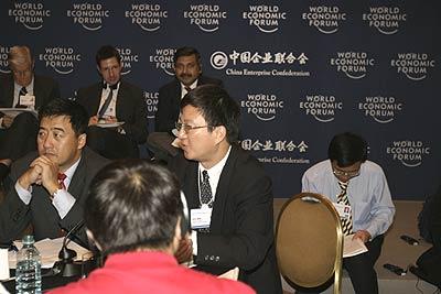 图:中国银行行长顾问兼总经理朱民