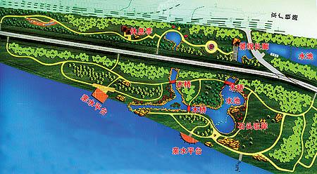 株洲三市范围内,起于长沙市猴子石大桥的湘江右岸,经昭山风景区至湘潭