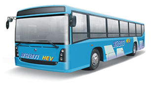 专为北京奥运会公交用车开发的城市公交车