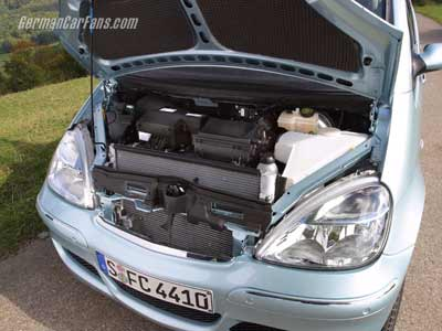 奔驰研制出世界第一辆燃料电池动力轿车