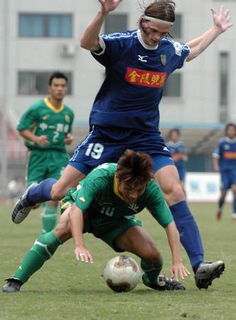 图文:南京有有2-0广州