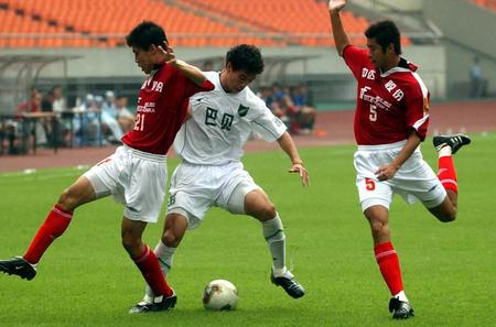 图文:浙江绿城3-0成都