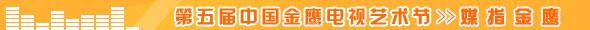 媒指金鹰_第五届中国金鹰电视艺术节